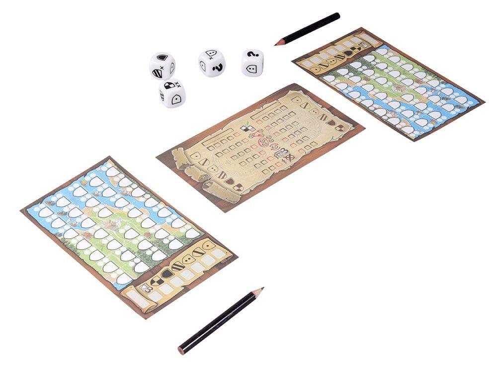 Игровой процесс настольной игры Лоскутное королевство: Дуэль Гербов