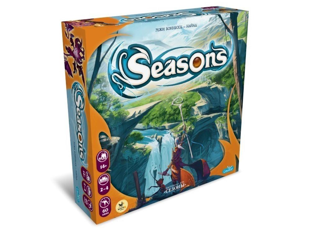 Коробка настольной игры Сезоны (Seasons)