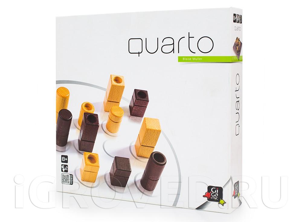 Коробка настольной игры Кварто (Quarto)