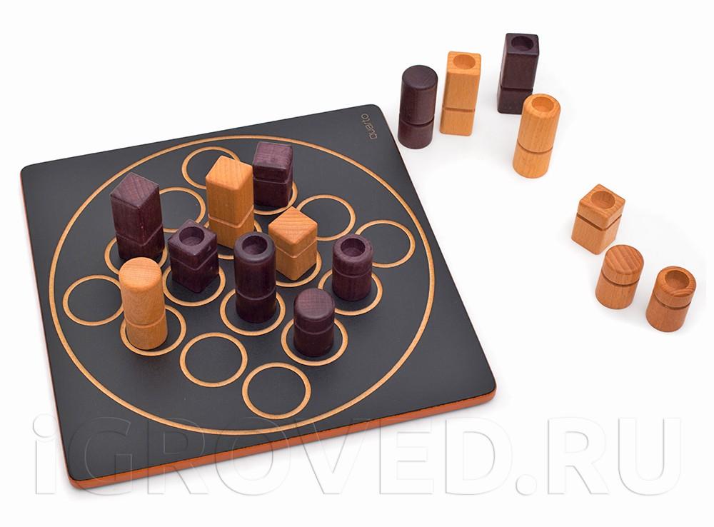 Игровое процесс настольной игры Кварто (Quarto)