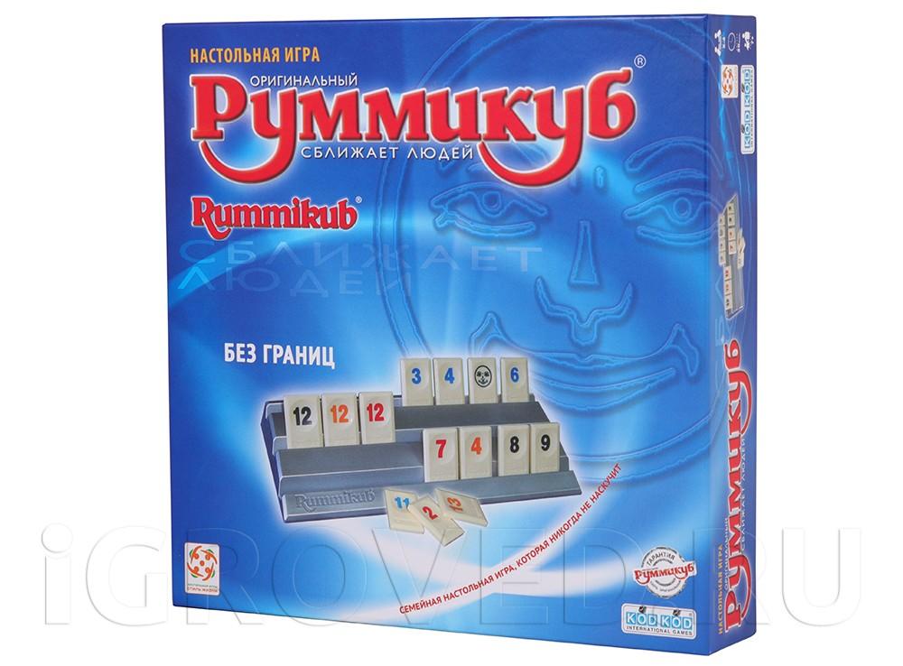 Настольная игра Руммикуб. Без границ - купить в Москве и Санкт ... 580ab74082594