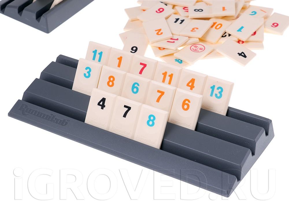 Игровой процесс настольной игры Руммикуб. Без границ