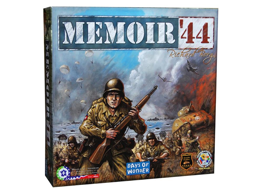 Коробка настольной игры Воспоминания о 1944