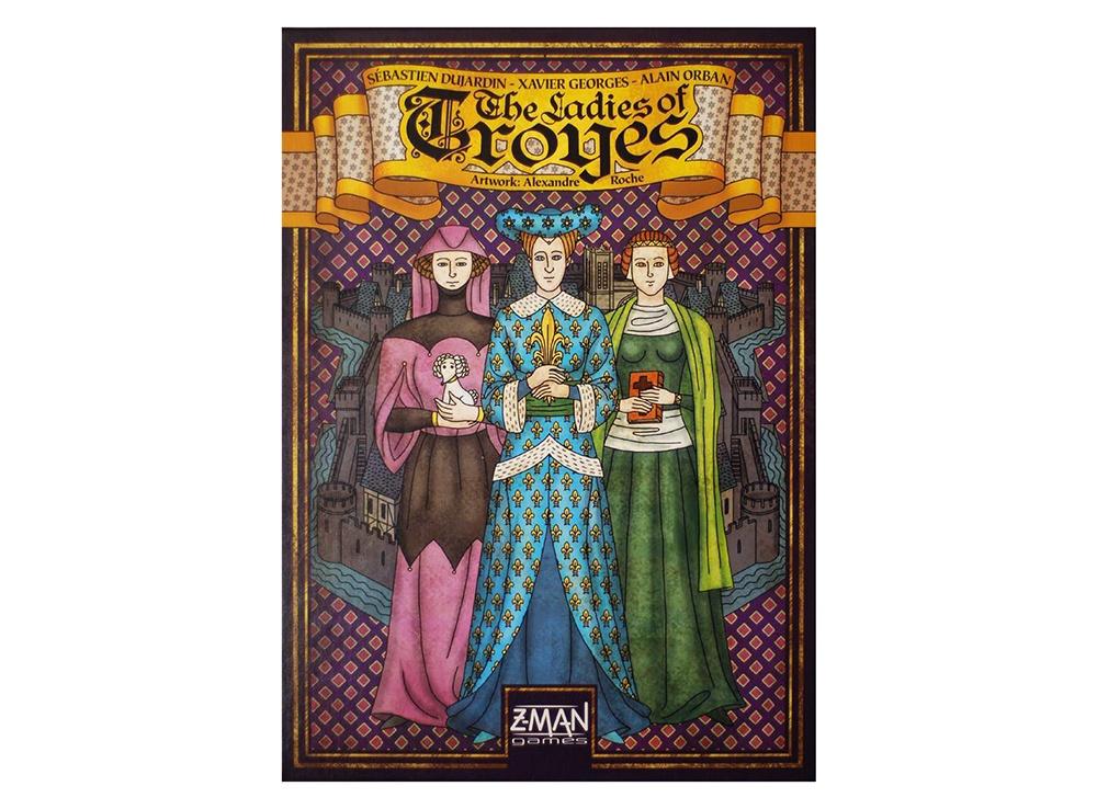 Настольная игра Труа: Леди (Les Dames de Troyes, дополнение)