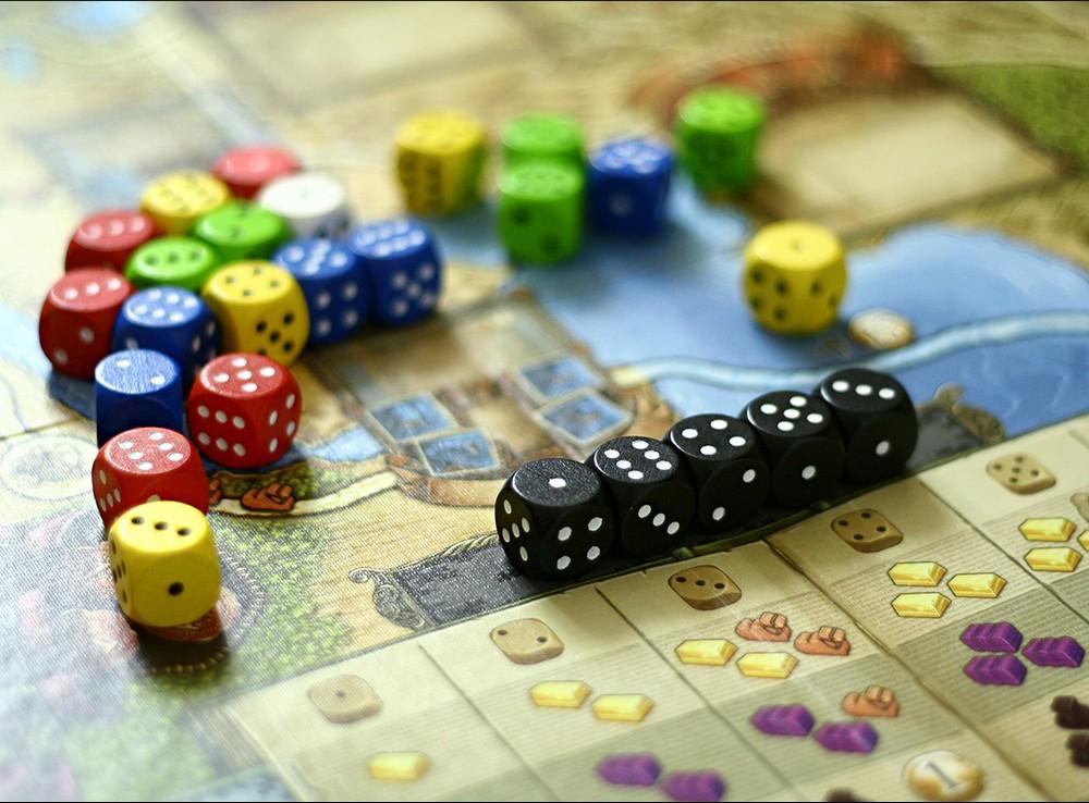 Компоненты настольной игры Путешествие Марко Поло