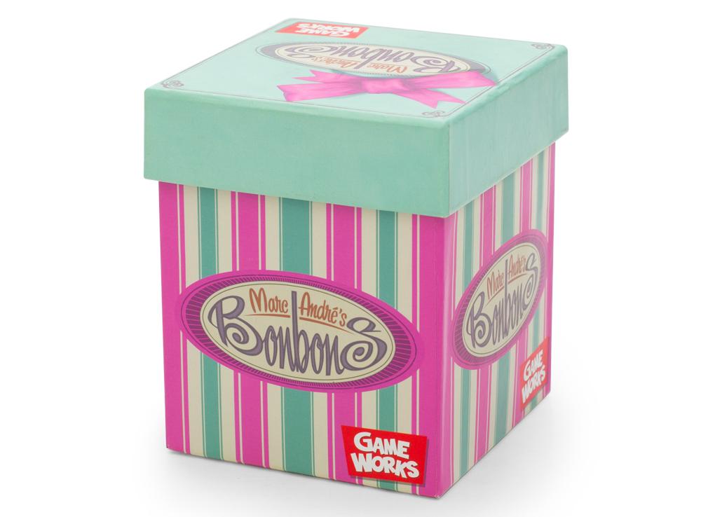 Коробка настольной игры Карамельки