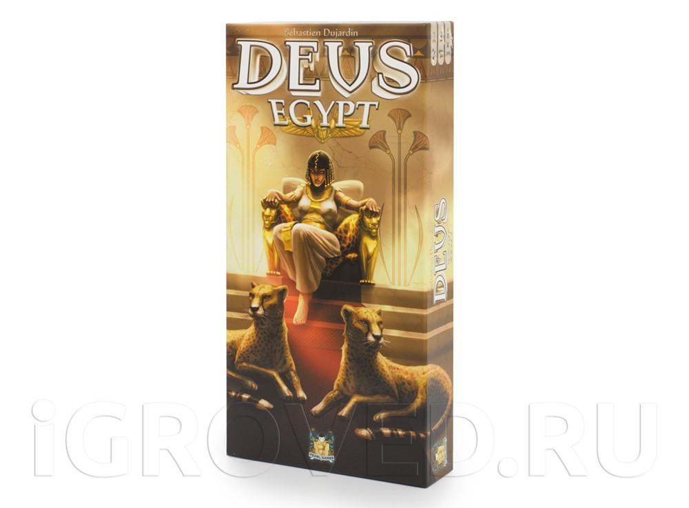 Коробка настольной игры Деус: Египет