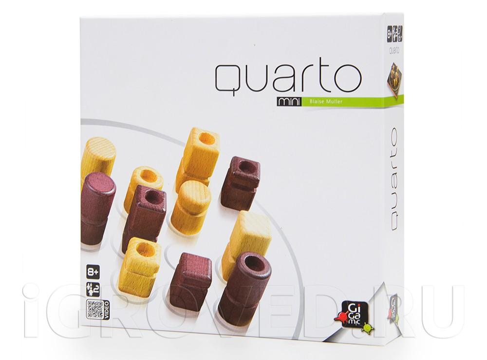 Коробка настольной игры Кварто Мини (Quarto Mini)