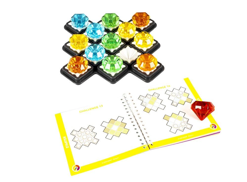 Компоненты настольной игры Алмазный квест
