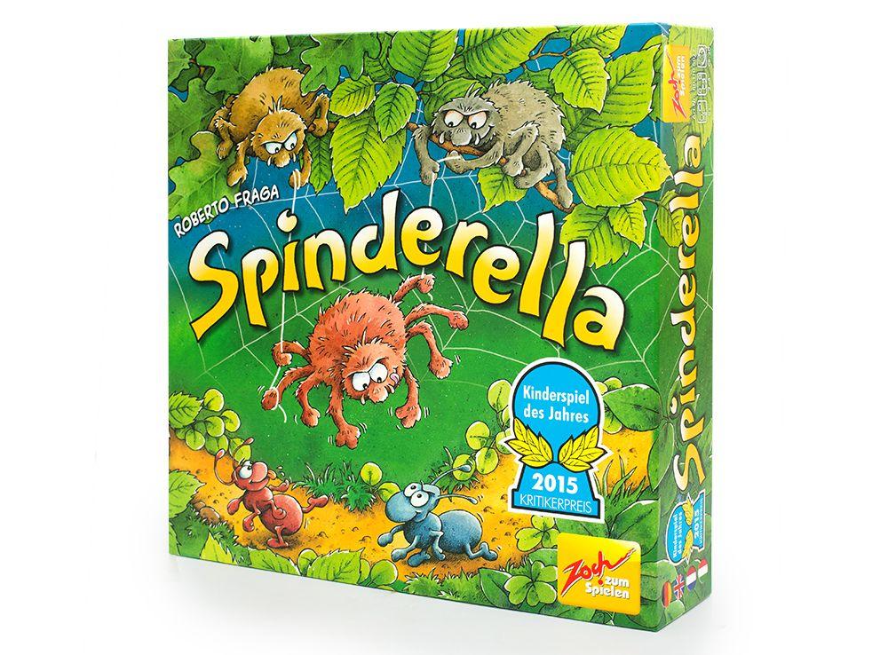 Коробка настольной игры Спиндерелла (Spinderella)