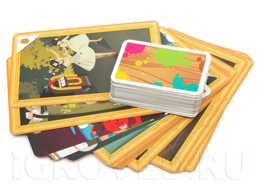 Карточки настольной игры Последний штрих (Final Touch)