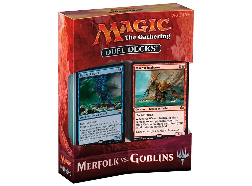 Magic the gathering Duel Deck: Merfolk vs Goblins