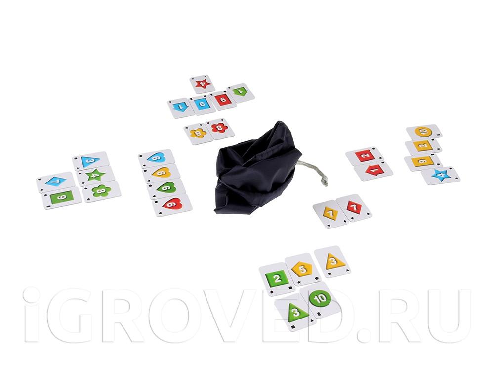 Игровой процесс настольной игры Руммикуб. Хорошее начало