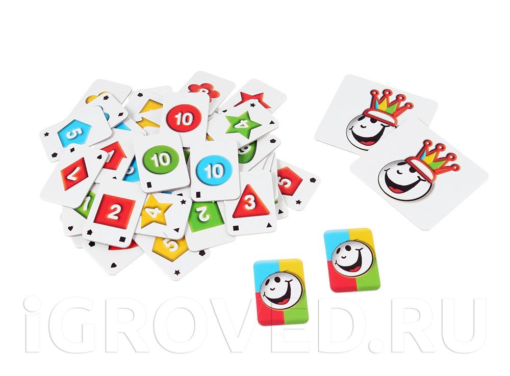 Компоненты настольной игры Руммикуб. Хорошее начало