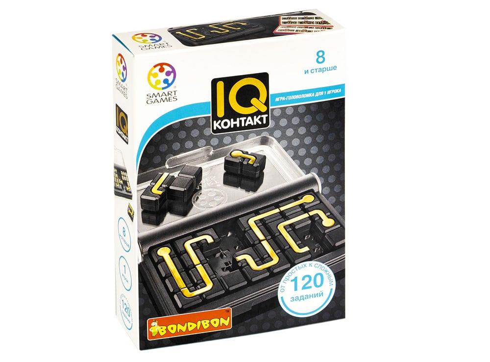Коробка настольной игры-головоломки IQ-контакт