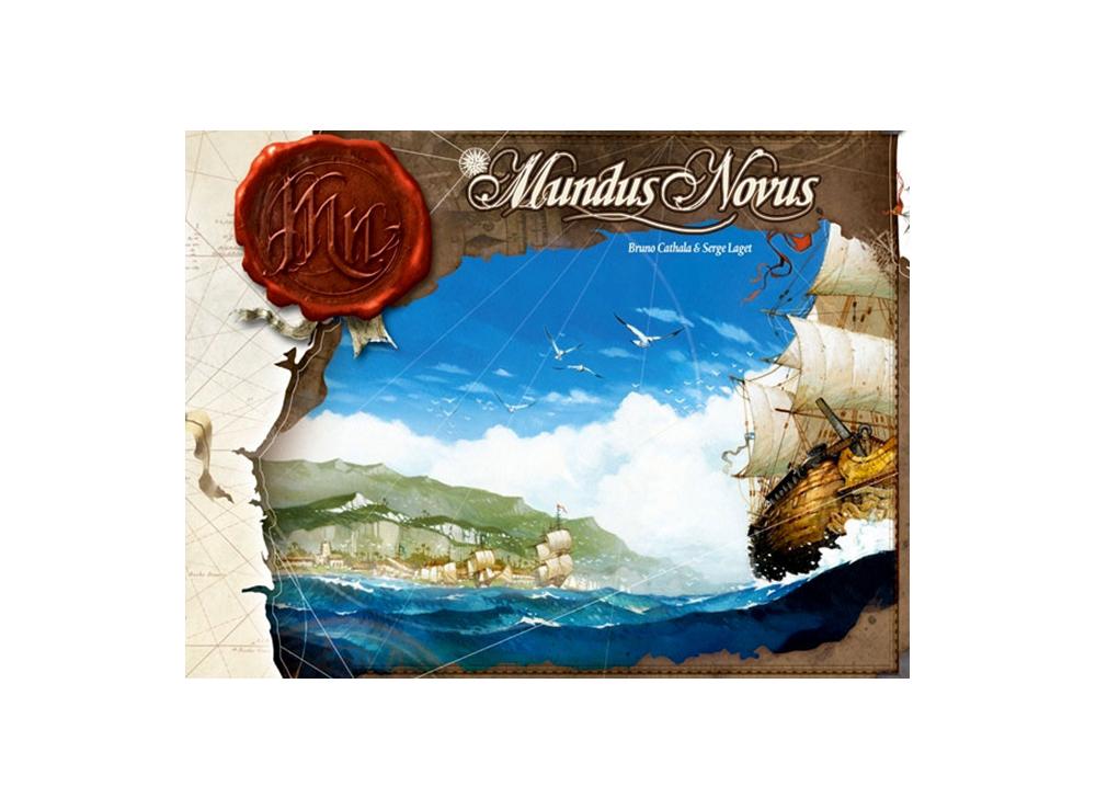 Коробка настольной игры Новый Свет (Mundus Novus)