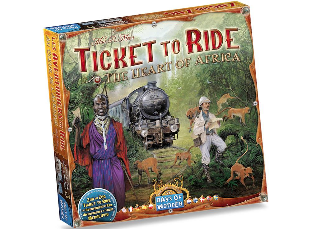 Игра Билет на поезд: Сердце Африки (Ticket to Ride: The Heart of Africa)