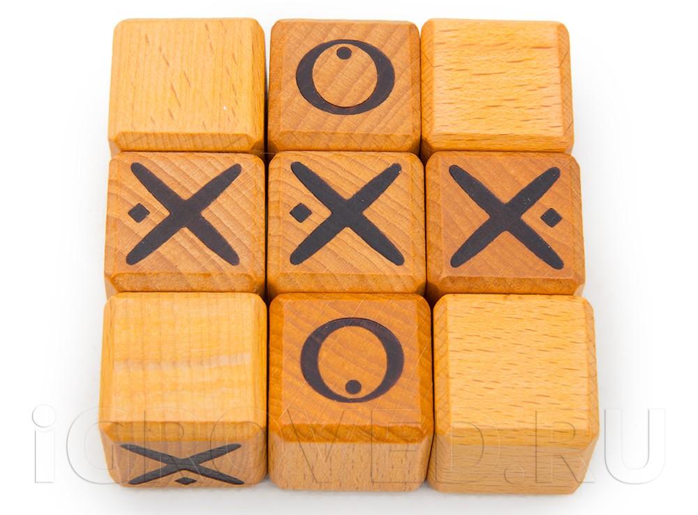 Компоненты  настольной игры Квиксо (Quixo)