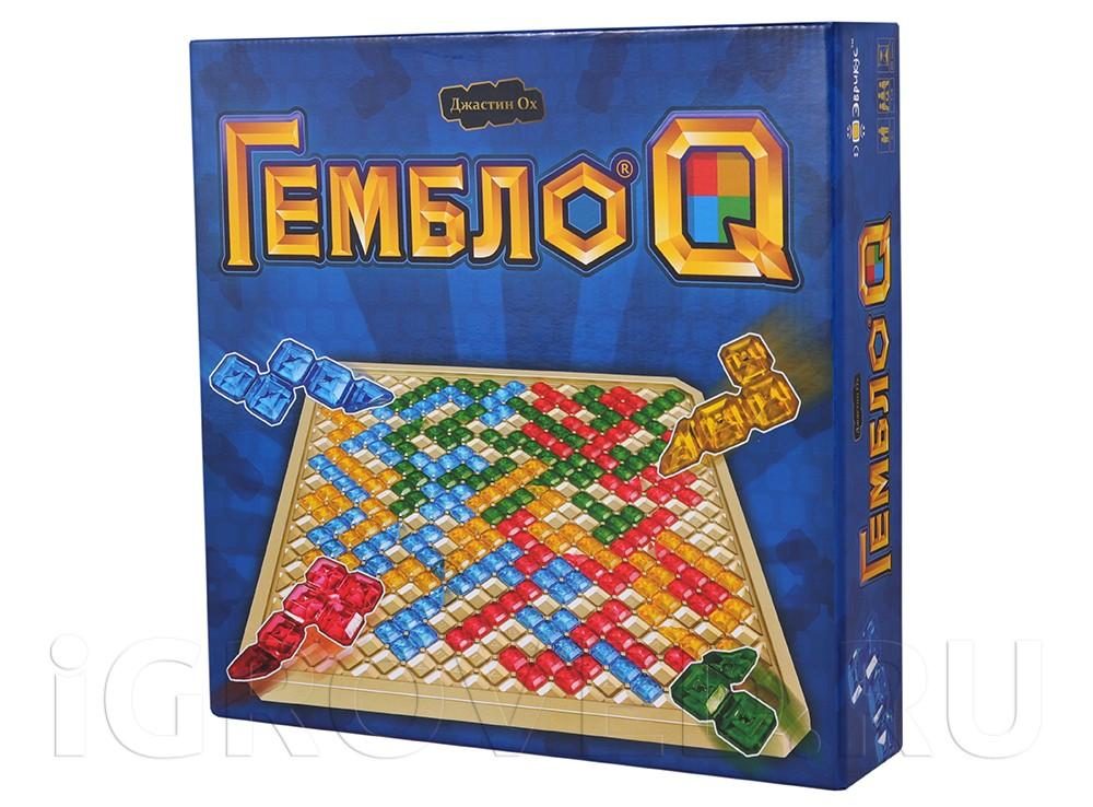 Коробка настольной игры Гембло Q