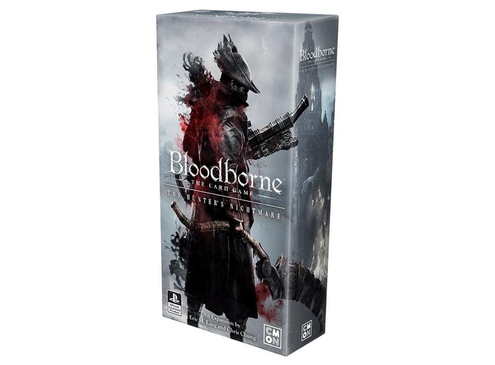 Коробка Bloodborne. Карточная игра: Кошмар Охотника