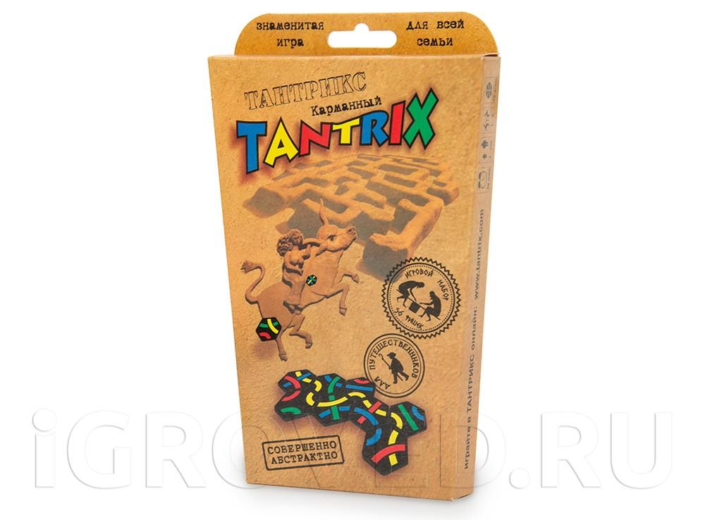 Коробка настольной игры Тантрикс (карманный)
