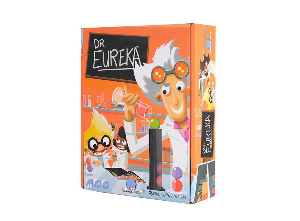 Коробка настольной игры Доктор Эврика