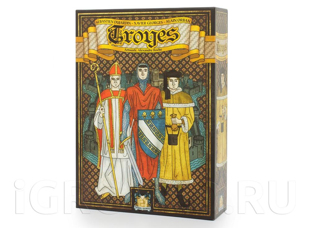 Коробка настольной игры Труа (Troyes)