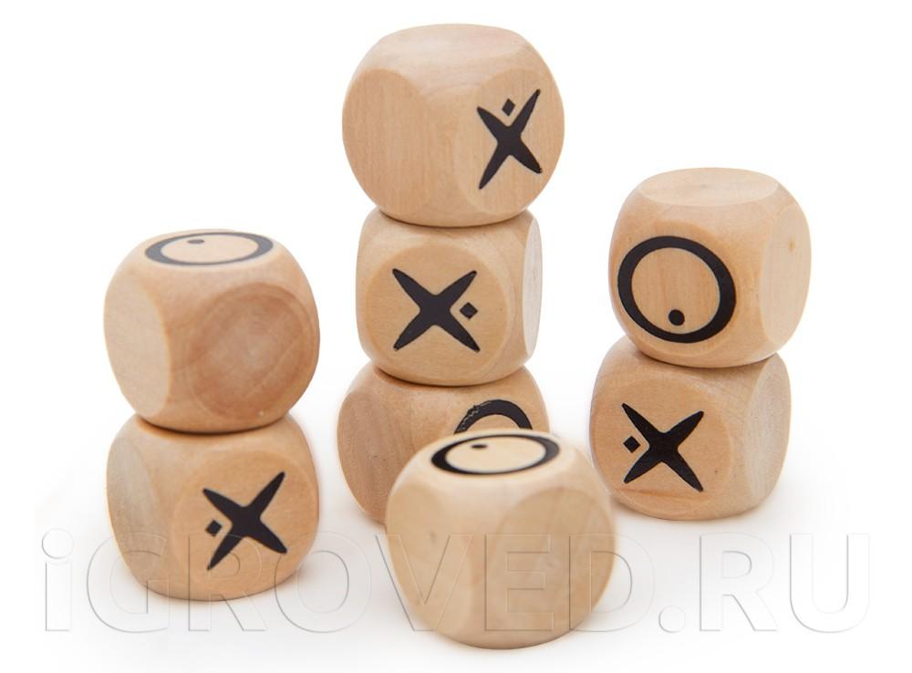 Кубики настольной игры Квиксо Мини (Quixo Mini)