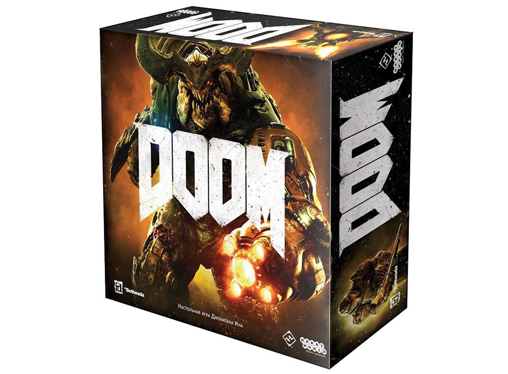 Коробка настольной игры Doom