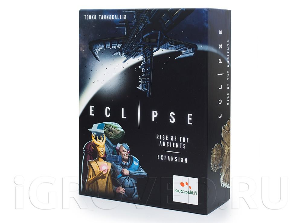 Коробка настольной игры Эклипс - Появление древних (Eclipse - Rise of the Ancients, дополнение)
