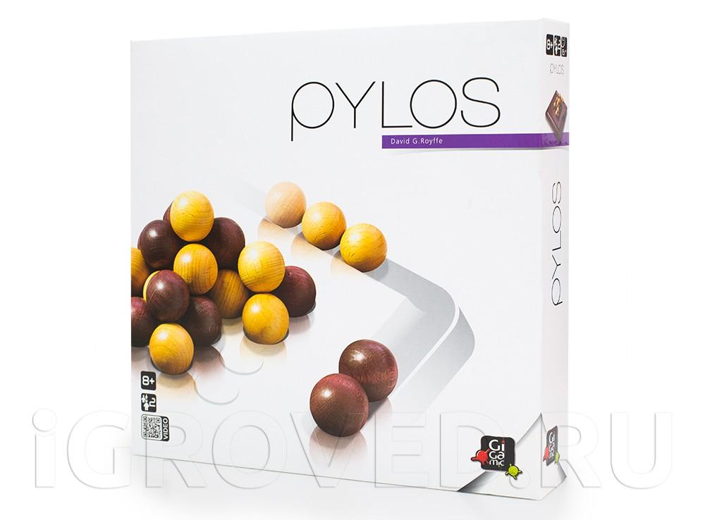 Коробка настольной игры Пилос (Pylos)