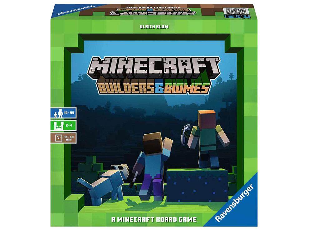 Коробка игры Майнкрафт. Строители и Биомы