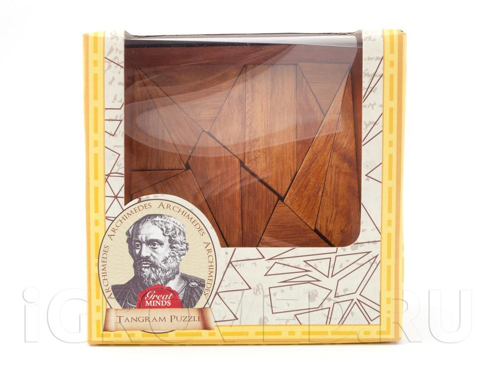Игра-головоломка Танграм Архимеда (код 1100, Archimedes Tangram Puzzle)