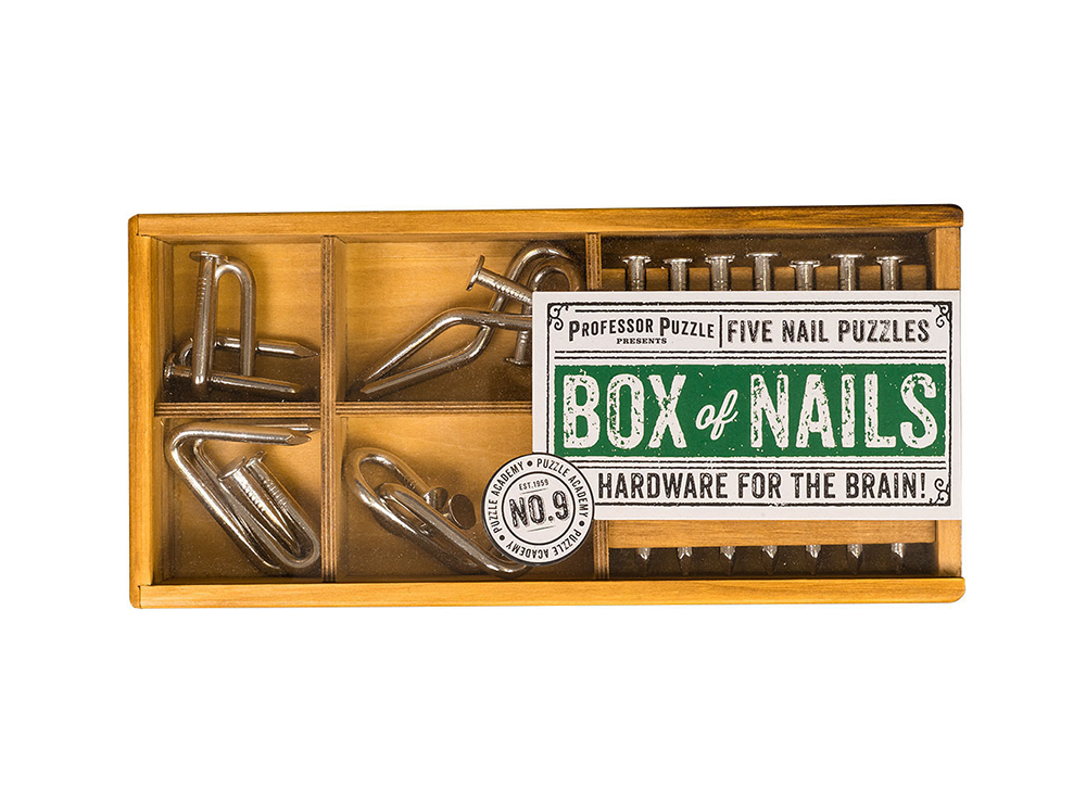 Гвозди в ящике