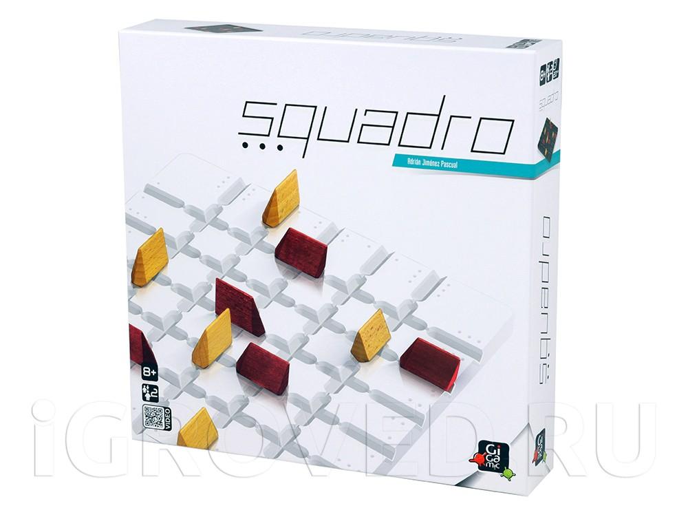 Коробка настольной игры Сквадро (Squadro)