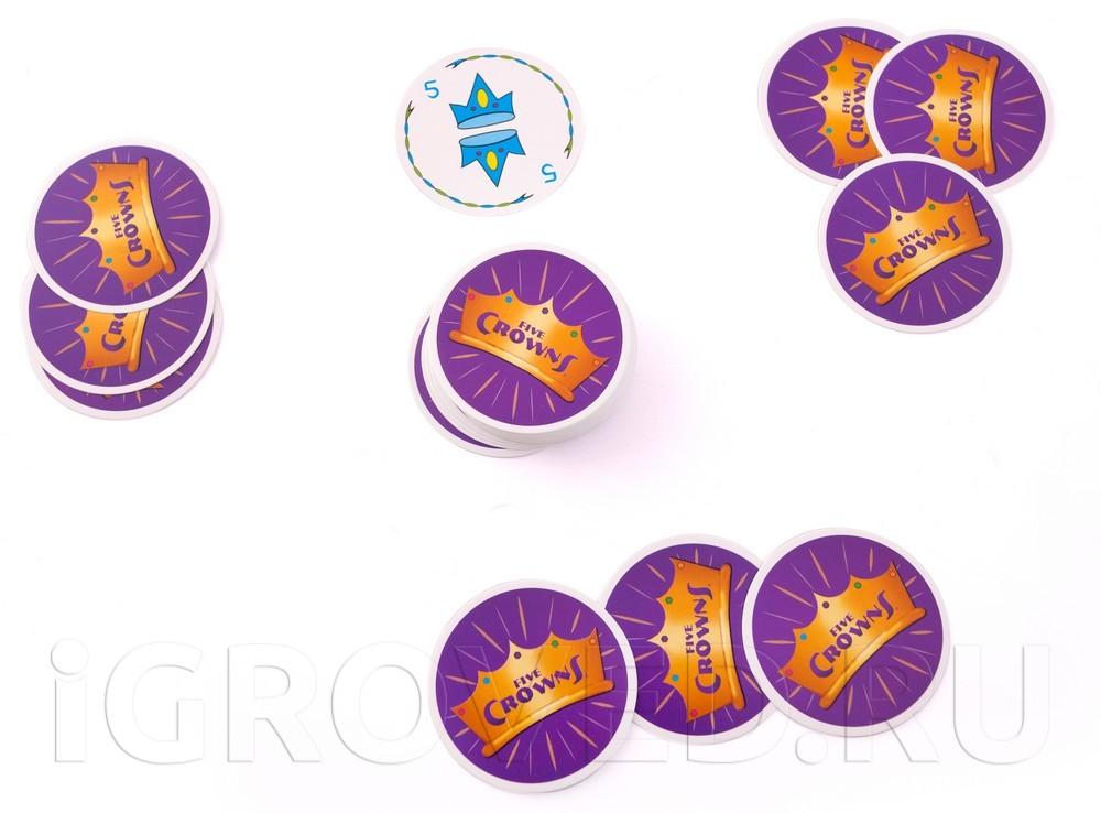 Игровой процесс настольной игры Пять корон мини (Five Crowns mini)