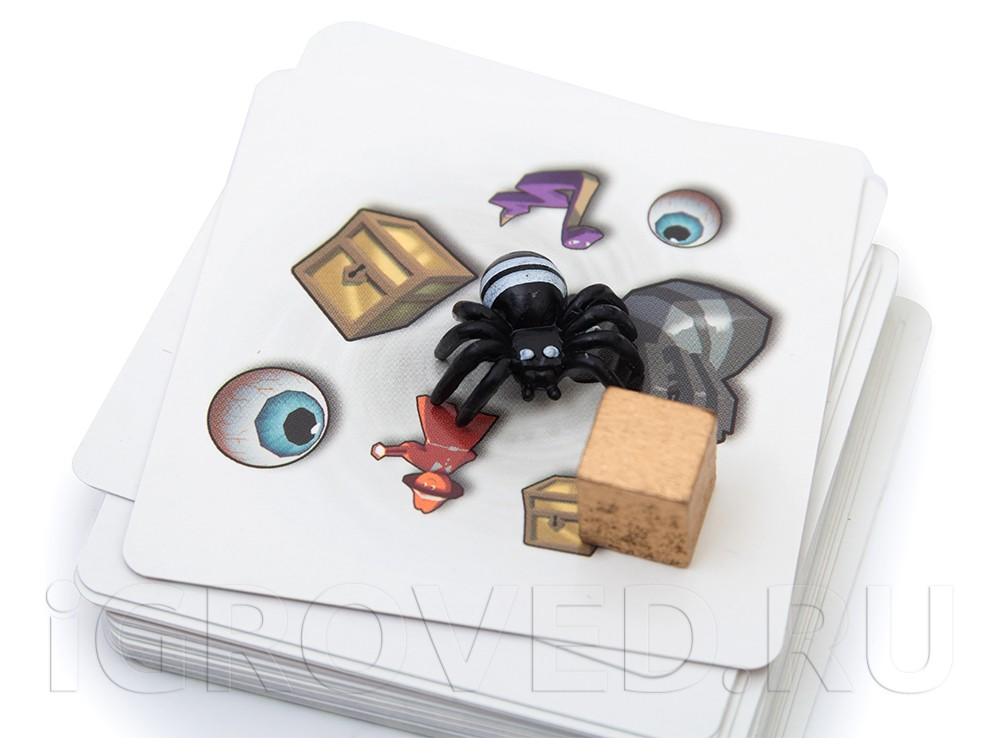 Карточки настольной игры Паника в поместье (Panic Mansion)