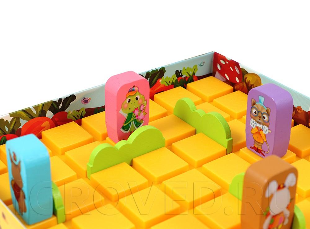 Игровой процесс настольной игры Коридор для детей (новый дизайн)