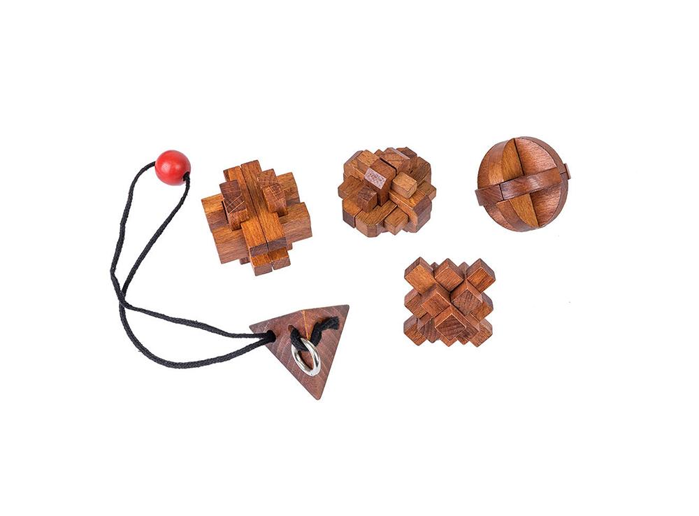 Настольная игра-головоломка 5 головоломок Великие Умы: Женщины