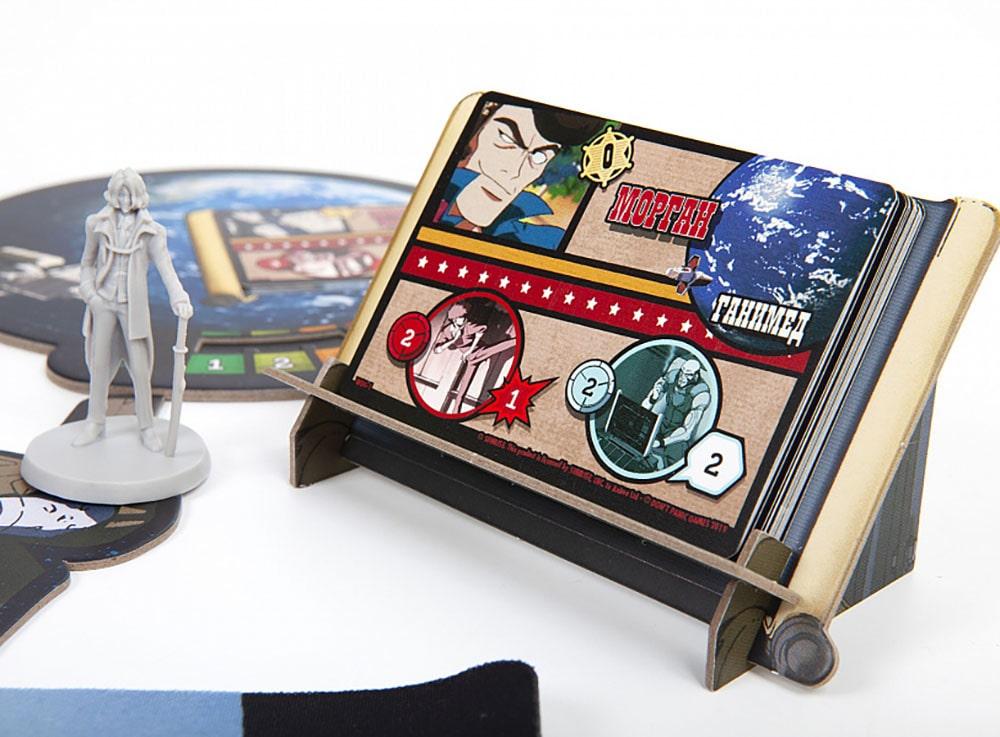 Планшет игрока настольной игры Ковбой Бибоп