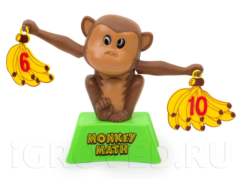 Процесс игры Мартышкины задачки (Monkey Math)