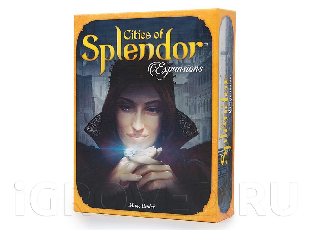 Коробка настольной игры Роскошь: Города (Cities of Splendor, дополнение)