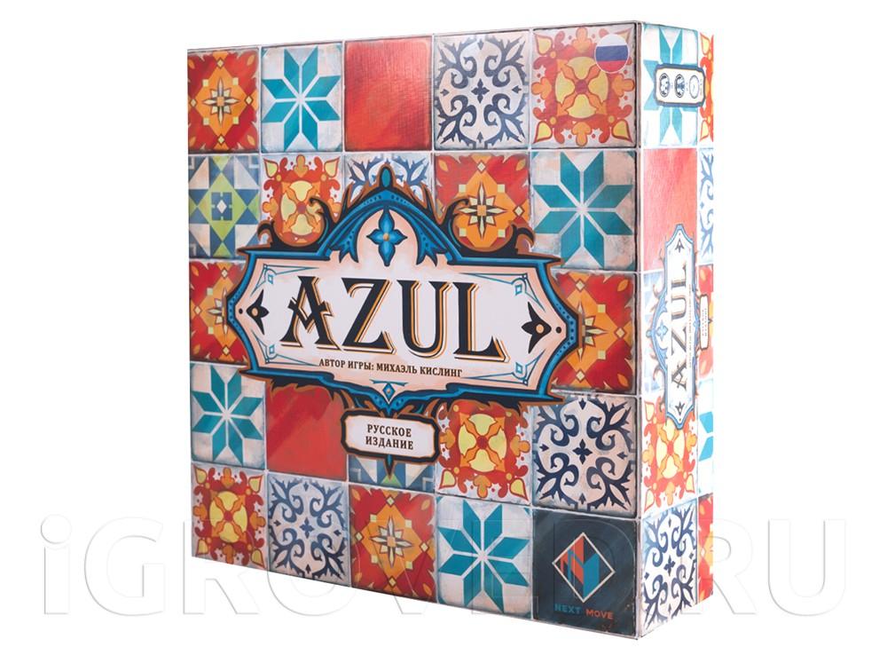 Коробка настольной игры Азул (Azul)