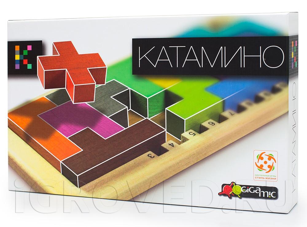 Коробка настольной игры Катамино (Katamino)