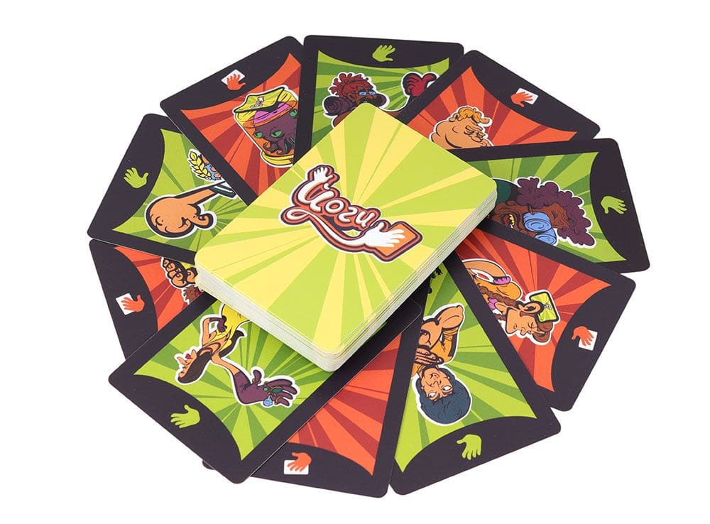 Карточки настольной игры Йоги