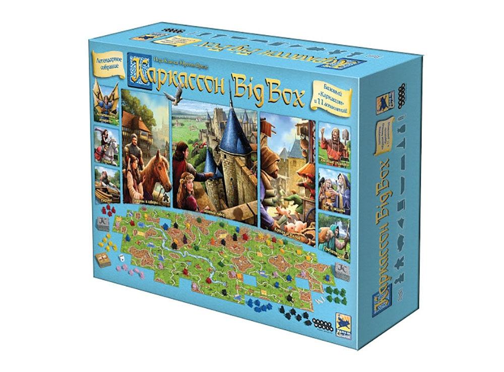 Коробка настольной игры Каркассон: Big box