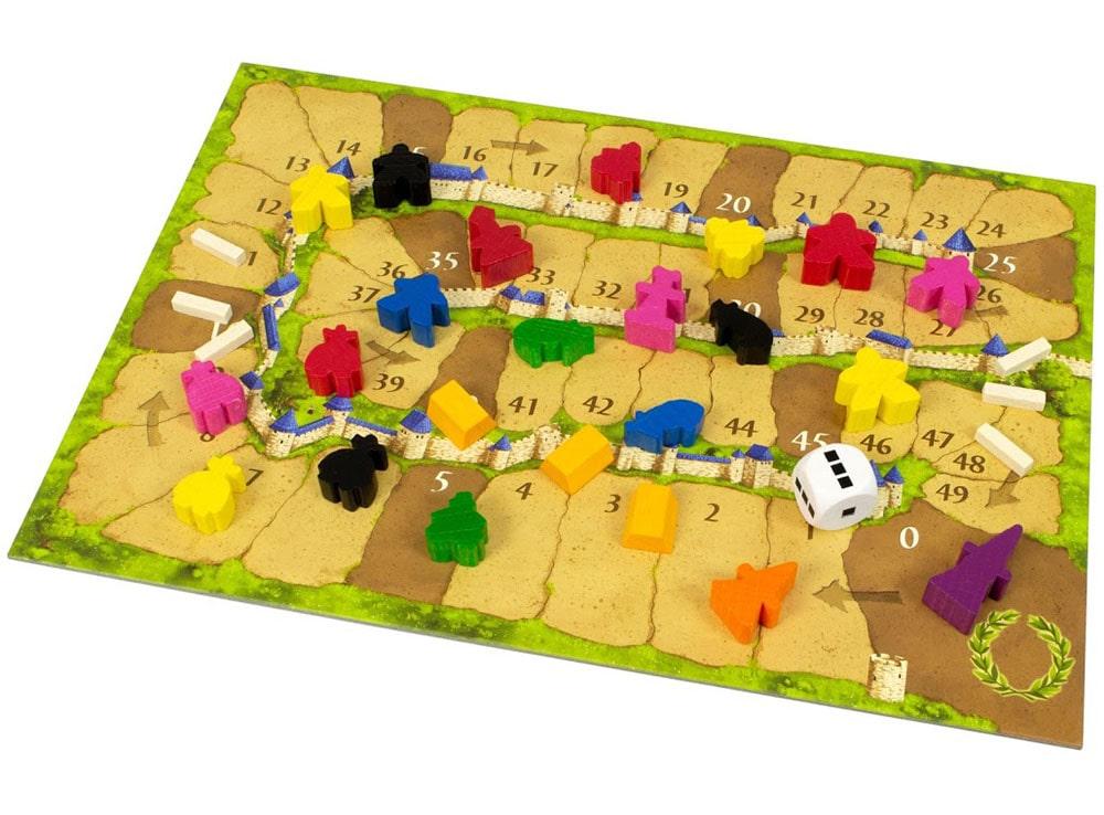 Игровое поле настольной игры Каркассон: Big box