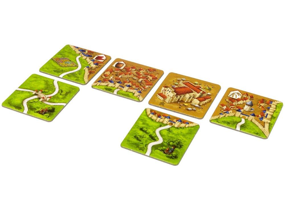 Компоненты настольной игры Каркассон: Big box