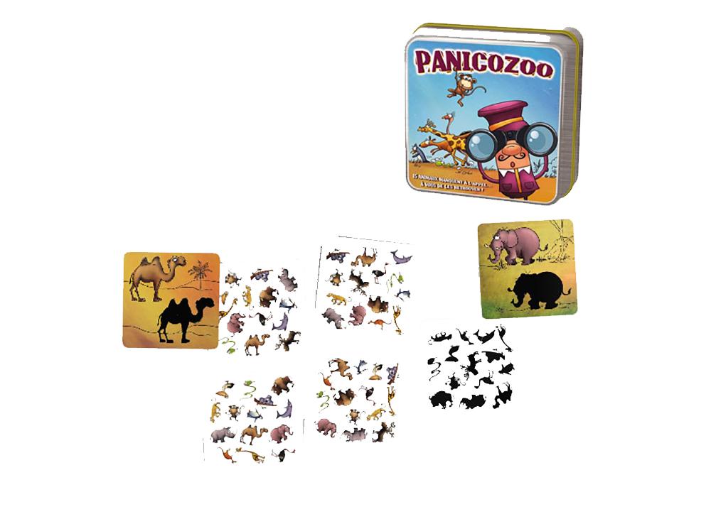 Компоненты настольной игры Зоопаника (Panicozoo)