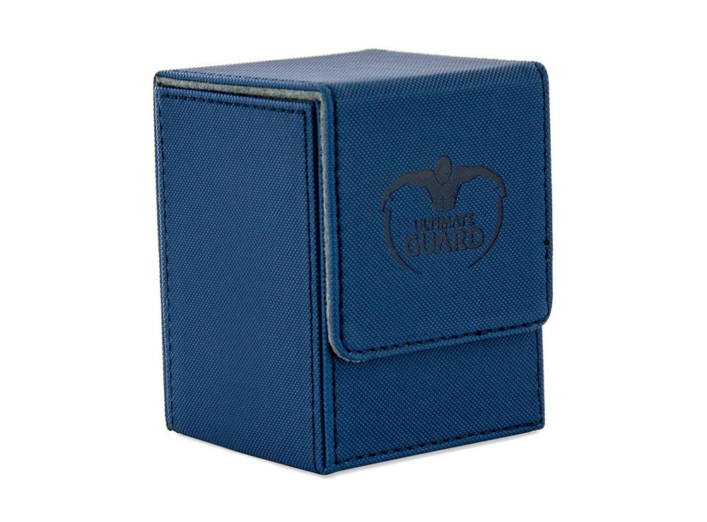 Коробочка Ultimate Guard XenoSkin синяя (100 карт)